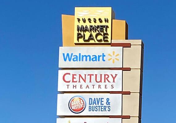 Retail – Tucson Marketplace – Commercial Property Management - M.A.S. Real Estate Services, Inc.